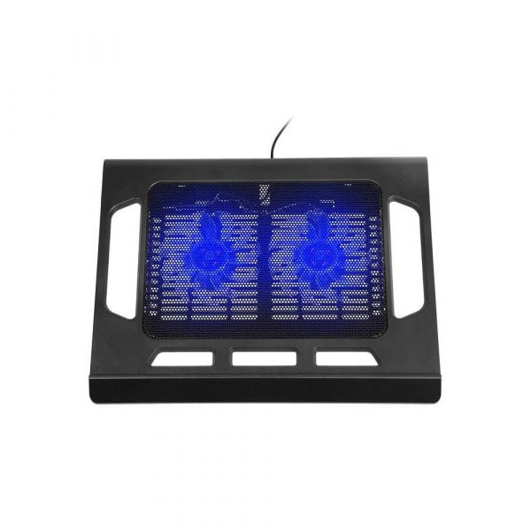 materiały biurowe 7 alibiuro.pl Podstawka chodzca pod laptop Tracer SNOWFLAKE TRASTA44452 15.6 cala 2 wentylatory 68