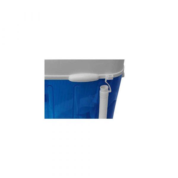 materiały biurowe 7 alibiuro.pl Pralka turystyczna Adler AD 8051 1000 obr min 3 kg 370 mm kolor niebieski 58