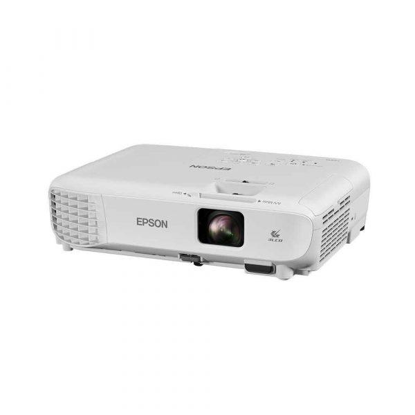 materiały biurowe 7 alibiuro.pl Projektor Epson EB S05 V11H838040 3LCD SVGA 800x600 3200 ANSI 15000 1 73