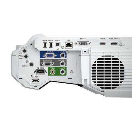 materiały biurowe 7 alibiuro.pl Projektor ultra krtkoogniskowy Epson EB 1440UI V11H771040 3LCD WUXGA 1920x1200 3800 ANSI 16000 1 48