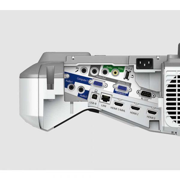 materiały biurowe 7 alibiuro.pl Projektor ultra krtkoogniskowy Epson EB 685W V11H744040 3LCD WXGA 1280x800 3500 ANSI 14000 1 40