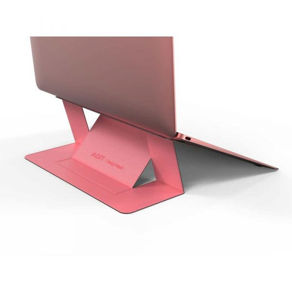 materiały biurowe 7 alibiuro.pl Stojak do laptopa Allocacoc MOFT Laptop Stand PINK 33