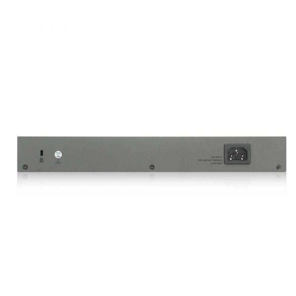 materiały biurowe 7 alibiuro.pl Switch PoE ZyXEL GS1300 18HP EU0101F 16x 10 100 1000Mbps 45