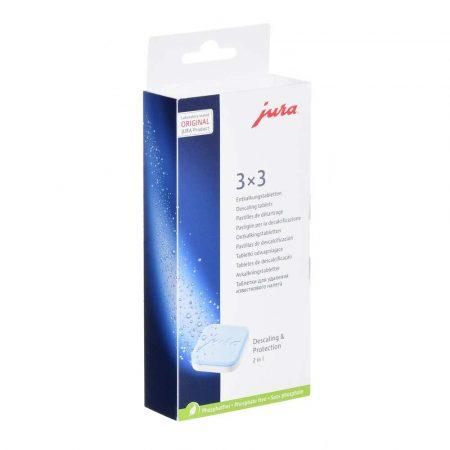 materiały biurowe 7 alibiuro.pl Tabletki odkamieniajce do ekspresw JURA 3x3 61848 56