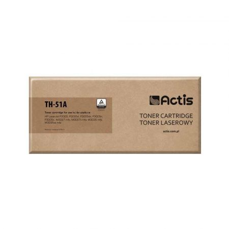 materiały biurowe 7 alibiuro.pl Toner ACTIS TH 51A zamiennik HP 51A Q7551A Standard 6500 stron czarny 22