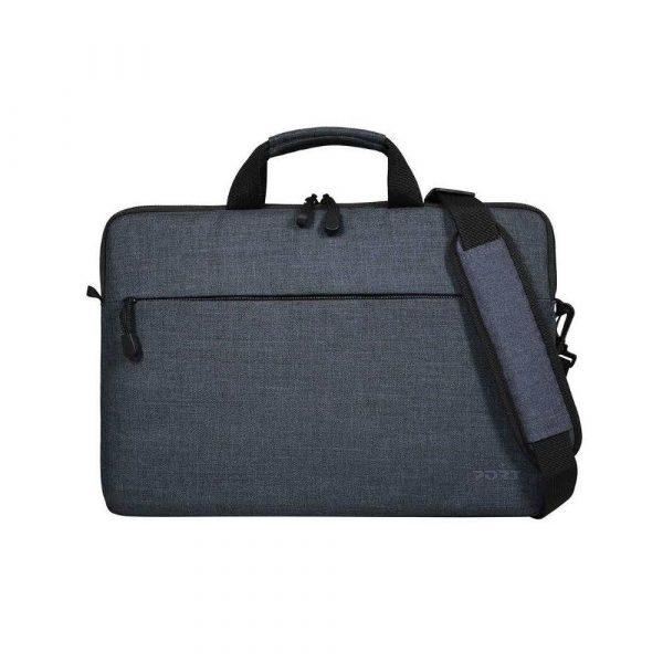 materiały biurowe 7 alibiuro.pl Torba na laptopa PORT DESIGNS Belize 110200 Top Load 15 6 Inch kolor szary 41