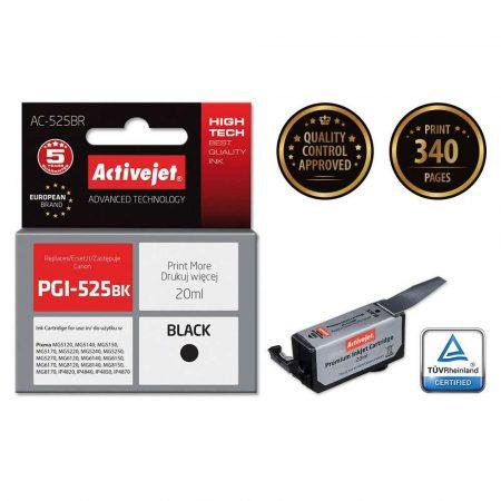 materiały biurowe 7 alibiuro.pl Tusz Activejet AC 525BR zamiennik Canon PGI 525PGBK Premium 20 ml czarny 45