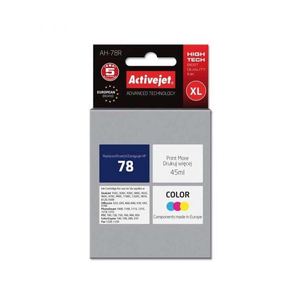 materiały biurowe 7 alibiuro.pl Tusz Activejet AH 78R zamiennik HP 78 C6578D Premium 45 ml kolor 79