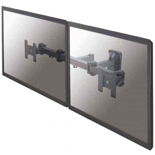 materiały biurowe 7 alibiuro.pl Uchwyt cienny do 2 monitorw NEWSTAR FPMA W960D cienne 10 Inch 27 Inch max. 12kg 93