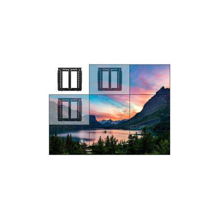 materiały biurowe 7 alibiuro.pl Uchwyt cienny do monitora B TECH BT8312 B 1MBTM027 42 Inch 70 Inch do 1 ekranu cienne 23