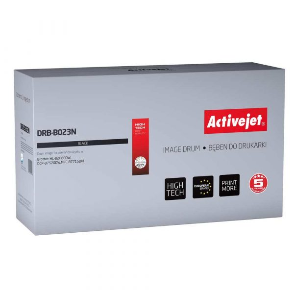 materiały eksploatacyjne 7 alibiuro.pl Bben Activejet DRB B023N zamiennik Brother DR B023 Supreme 12000 stron czarny 50