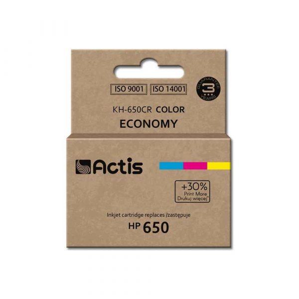 materiały eksploatacyjne 7 alibiuro.pl Tusz ACTIS KH 650CR zamiennik HP 650 CZ102AE Standard 9 ml kolor 75