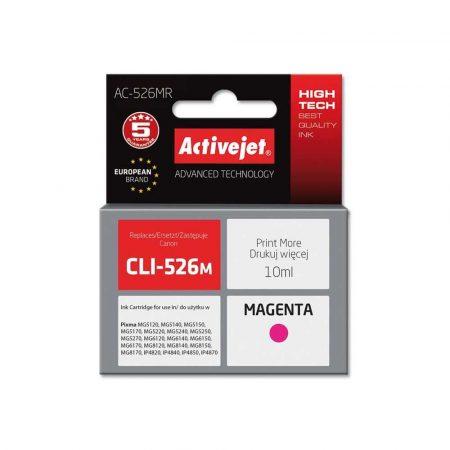 materiały eksploatacyjne 7 alibiuro.pl Tusz Activejet AC 526MR zamiennik Canon CLI 526M Premium 10 ml czerwony 15