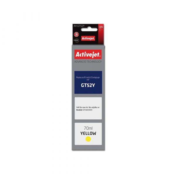 materiały eksploatacyjne 7 alibiuro.pl Tusz Activejet AH GT52Y zamiennik HP GT52Y M0H56AE Supreme 70 ml ty 97