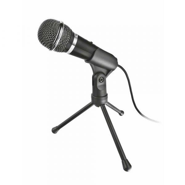 mikrofony komputerowe 7 alibiuro.pl Mikrofon Trust Starzz 21671 kolor czarny 64