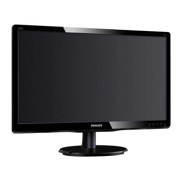 monitory 7 alibiuro.pl Monitor Philips 200V4QSBR 00 19 5 Inch MVA FullHD 1920x1080 VGA kolor czarny 18