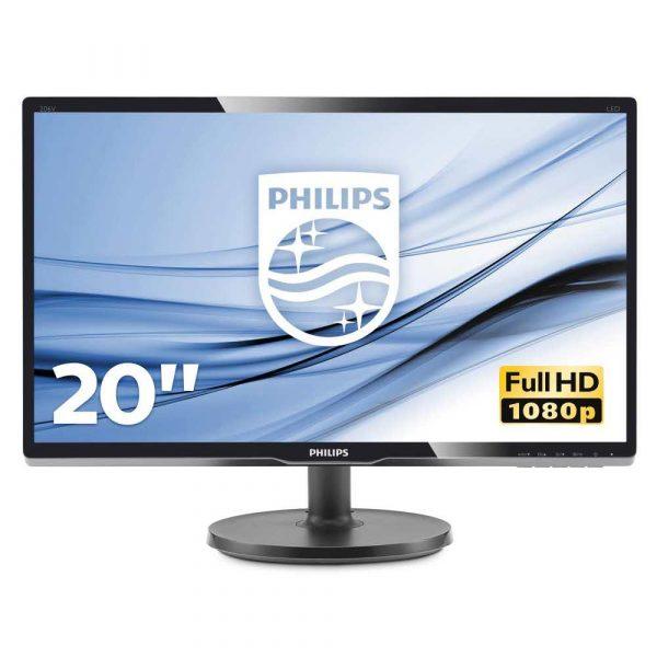 monitory 7 alibiuro.pl Monitor Philips 200V4QSBR 00 19 5 Inch MVA FullHD 1920x1080 VGA kolor czarny 49