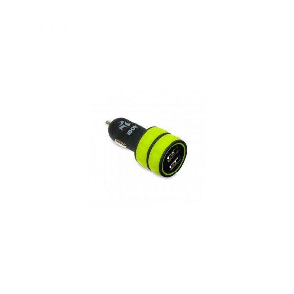 motoryzacja 7 alibiuro.pl adowarka samochodowa IBOX C 12 DUAL USB 3.1A ICC12BG 94