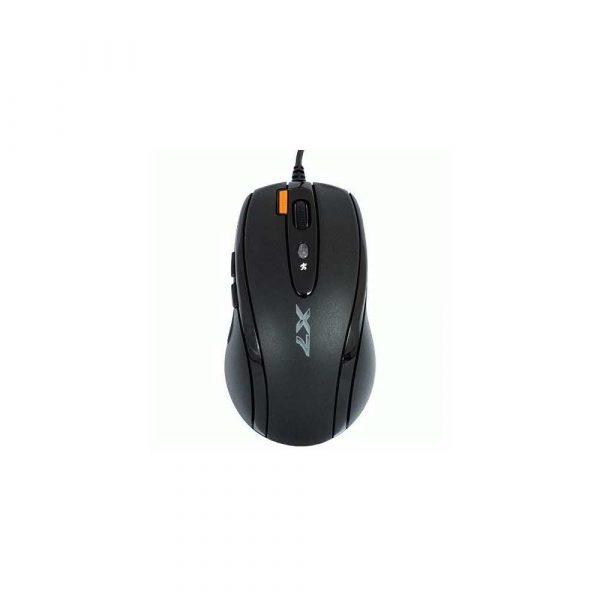 mysz do komputera 7 alibiuro.pl Mysz komputerowa A4 TECH Opto Oscar X710 A4TMYS27923 optyczna 2000 DPI kolor czarny 30