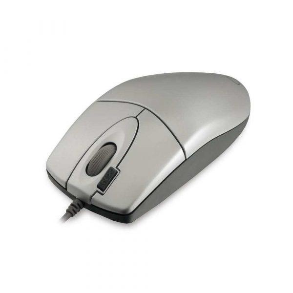mysz komputerowa 7 alibiuro.pl Mysz A4TECH OP 620D Silver USB optyczna 800 DPI kolor grafitowy kolor szary 83
