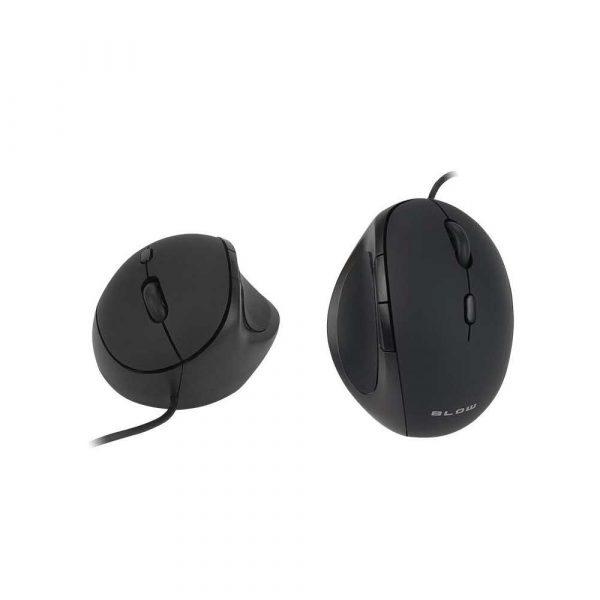 mysz komputerowa 7 alibiuro.pl Mysz BLOW MP 50 84 041 optyczna 3200 DPI kolor czarny 77