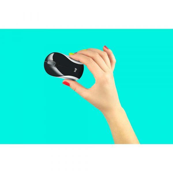 mysz komputerowa 7 alibiuro.pl Mysz Logitech M187 Mini 910 002731 optyczna 1000 DPI kolor czarny 29