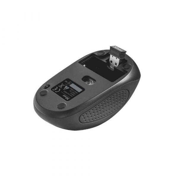 mysz komputerowa 7 alibiuro.pl Mysz Trust Primo 20322 optyczna 1600 DPI kolor czarny 2