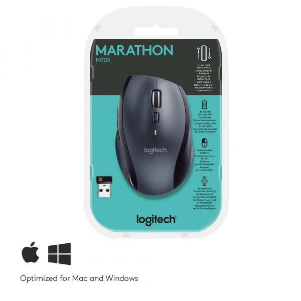 myszy do komputera 7 alibiuro.pl Mysz Logitech M705 910 001949 laserowa 1000 DPI kolor grafitowy 53