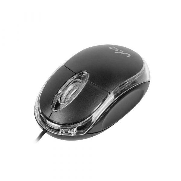 myszy komputerowe 7 alibiuro.pl Mysz UGO Simple UMY 1007 optyczna 1000 DPI kolor czarny 16