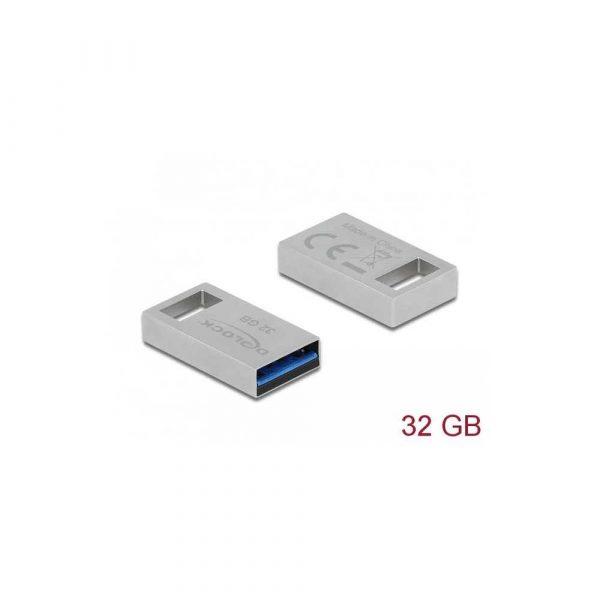 nośniki danych 7 alibiuro.pl DELOCK PENDRIVE MICRO 32GB USB 3.0 METALOWA OBUDOWA 54070 73