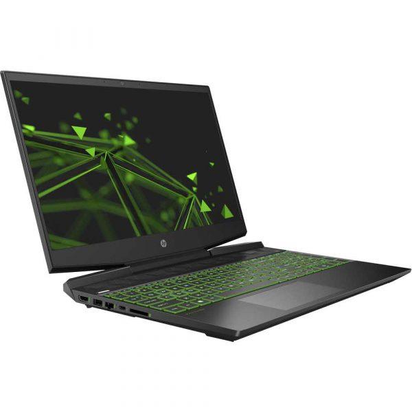 notebooki 7 alibiuro.pl HP Pavilion Gaming 15 dk1009nw i5 10300H 15 6 Inch MattFHD slim IPS 250nit 8GB DDR4 SSD512 GTX 1650Ti 4G BLK BT5 52 5Wh NoOS 2Y Shadow Black Acid Green 78
