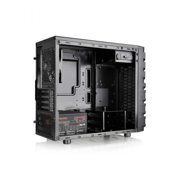 obudowy i zasilacze 7 alibiuro.pl Obudowa Thermaltake Versa H13 CA 1D3 00S1NN 00 Micro ATX Mini ITX kolor czarny 77