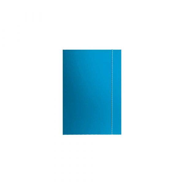 organizacja dokumentów 1 alibiuro.pl Teczka A4 kolorowa z gumk klejona Barbara niebieski 81