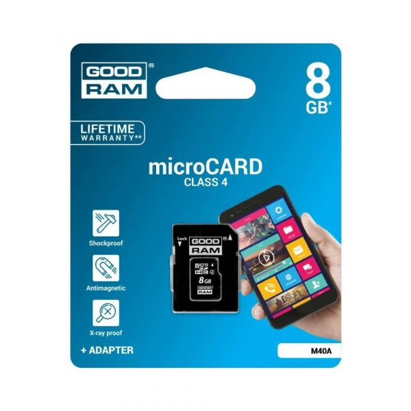 pamięci secure digital 7 alibiuro.pl Karta GoodRam M40A 0080R11 8GB Class 4 17