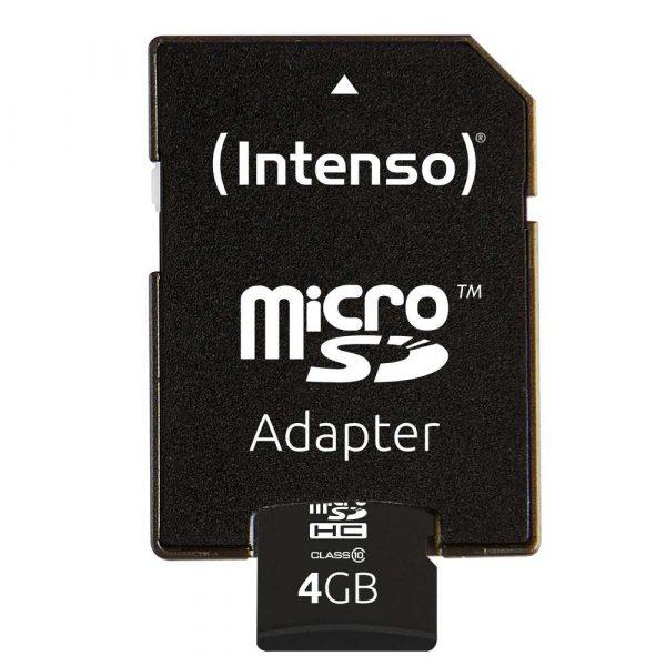 pamięci secure digital 7 alibiuro.pl Karta pamici INTENSO 3413450 4GB Class 10 Adapter 98