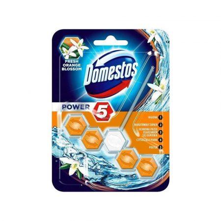 preparaty do czyszczenia toalet 7 alibiuro.pl DOMESTOS Power 5 Kostka zapachowa do WC Orange 55g 27