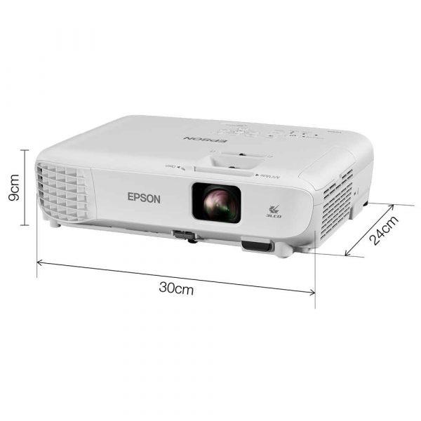 prezentacja multimedialna 7 alibiuro.pl Projektor Epson EB W05 V11H840040 3LCD WXGA 1280x800 3300 ANSI 15000 1 61
