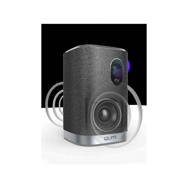 prezentacja multimedialna 7 alibiuro.pl Projektor bezlampowy VIVITEK Qumi Z1V 1PI214 LED 854x480 250 ANSI 10000 1 77