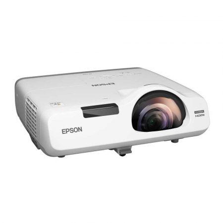 prezentacja multimedialna 7 alibiuro.pl Projektor krtkoogniskowy Epson EB 535W V11H671040 3LCD WXGA 1280x800 3400 ANSI 16000 1 55