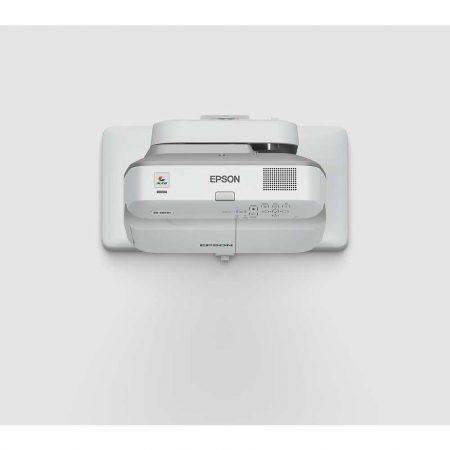 projektory 7 alibiuro.pl Projektor ultra krtkoogniskowy Epson EB 675W V11H745040 3LCD WXGA 1280x800 3200 ANSI 14000 1 98