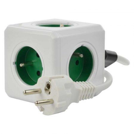 przedłużacze 7 alibiuro.pl Przeduacz allocacoc PowerCube Extended 2300GN FREXPC 1 5m kolor zielony 9