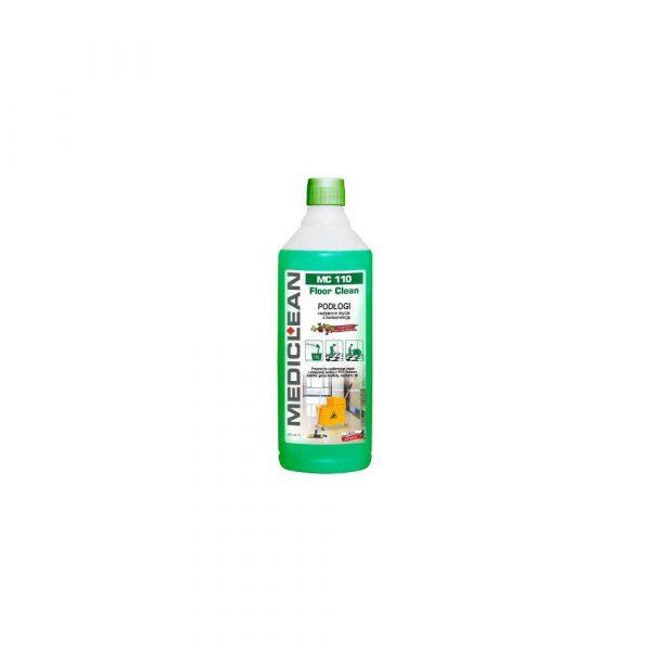 środki czystości i higiena 1 alibiuro.pl Mediclean MC 110 Pyn do mycia i konserwacji podg FLOOR CLEAN 1L 71