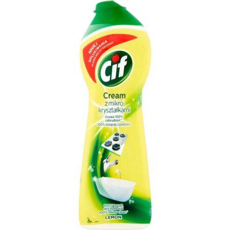 środki czystości i higiena 7 alibiuro.pl CIF Cream Lemon Mleczko z mikrokrysztakami 540g 42