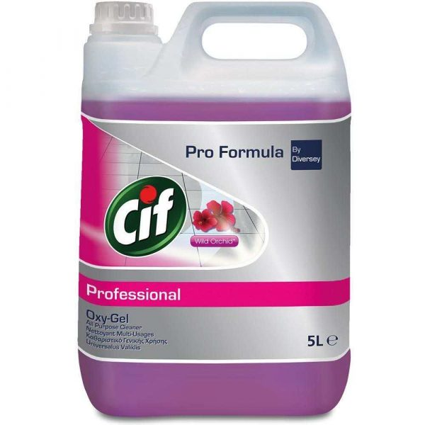 środki czystości i higiena 7 alibiuro.pl CIF Professional Uniwers. el czyszczacy OxyGel 5l 97
