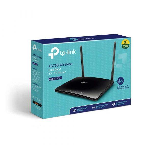 routery 7 alibiuro.pl Router TP LINK Archer MR200 3G 4G LTE SIM 2 4 GHz 5 GHz 91