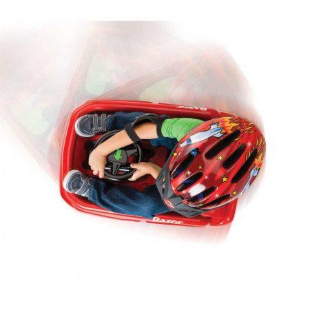 rowery 7 alibiuro.pl Pojazd elektryczna Razor Crazy Cart Kiddie 25173660 kolor czerwony 71