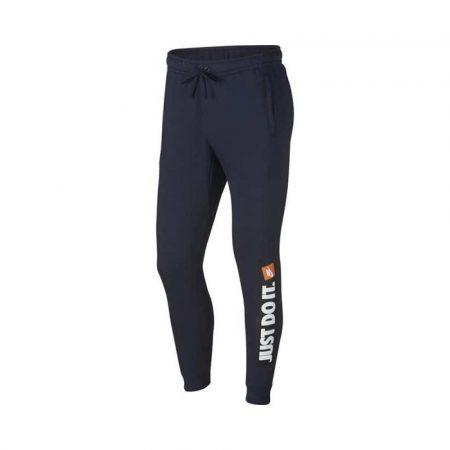 spodnie długie 7 alibiuro.pl Spodnie mskie Nike M NSW HBR Jogger FLC granatowe 88