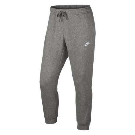 spodnie długie 7 alibiuro.pl Spodnie mskie Nike M NSW JGGR Club FLC szare 80440 25