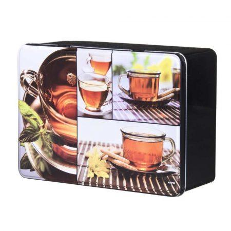 sprzęt AGD 7 alibiuro.pl Pojemnik na herbat z 6 pleczkami z metal 19