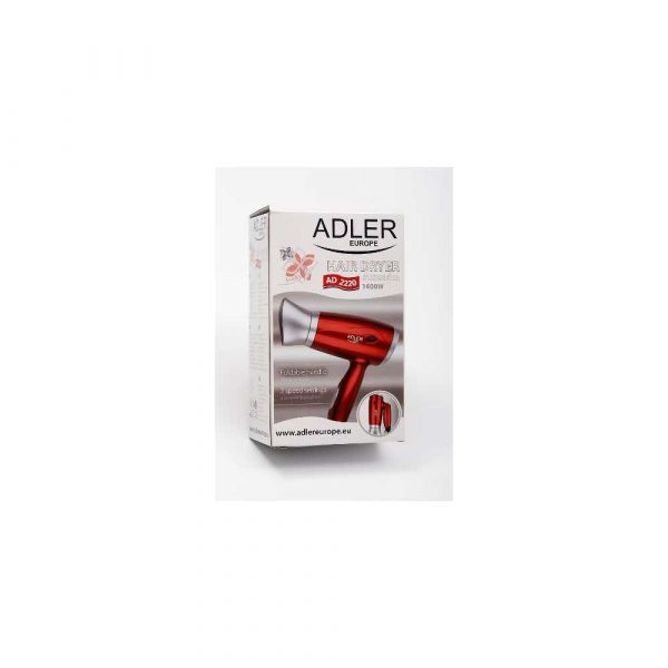 sprzęt AGD 7 alibiuro.pl Suszarka do wosw Adler AD 2220 1400W kolor czerwony 77